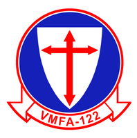 VMFA-122 Crusaders Sticker