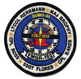 VMGR-152 Sumos Memorial Patch- With Velcro