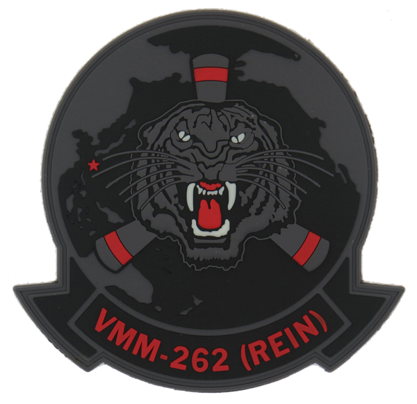 VMM-262 Black/Glow PVC- With Velcro