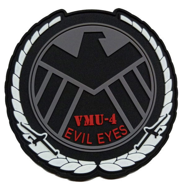 VMU-4 Evil Eyes Shield PVC- With Hook and Loop