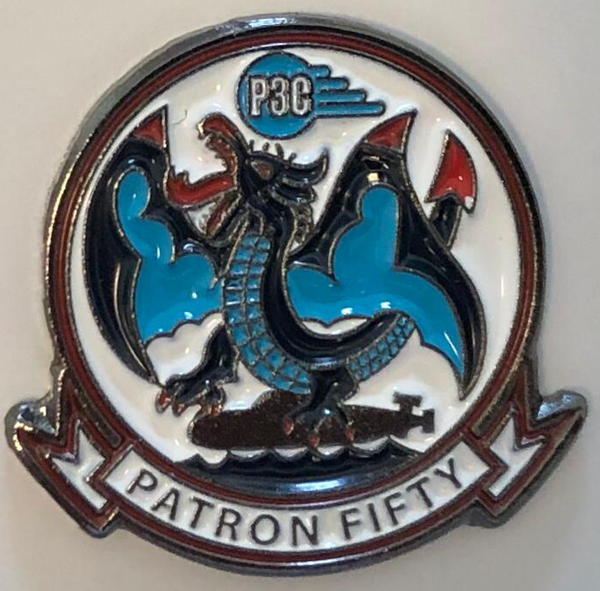 VP-50 Blue Dragons Pin