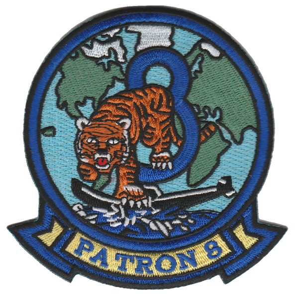 US Navy VP-8 Fighting Tigers- No Velcro