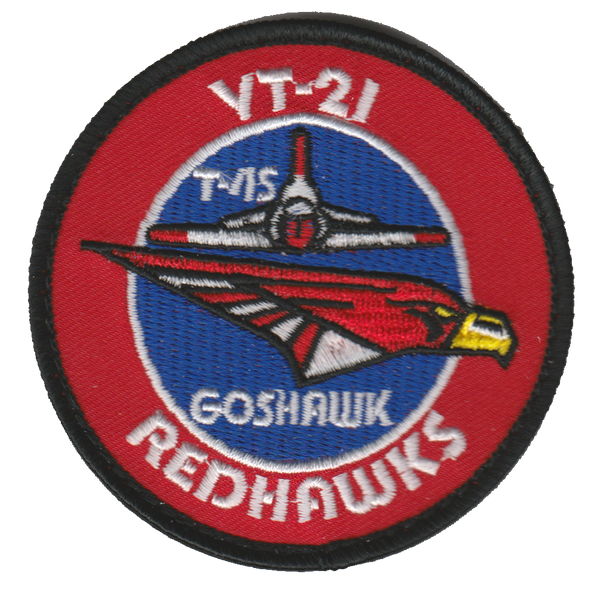 VT-21 Redhawks T-45 Goshawk Shoulder Patches