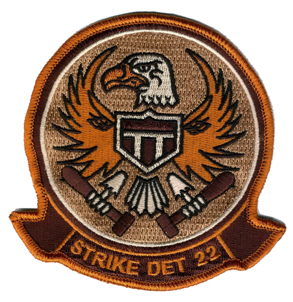 VT-22 Golden Eagles Desert Chest Patch