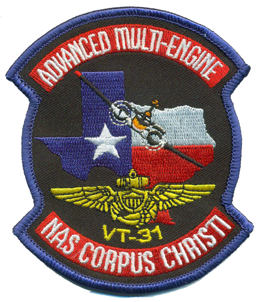 US Navy VT-31 Advanced Multi-Engine Student Patch- with Velcro