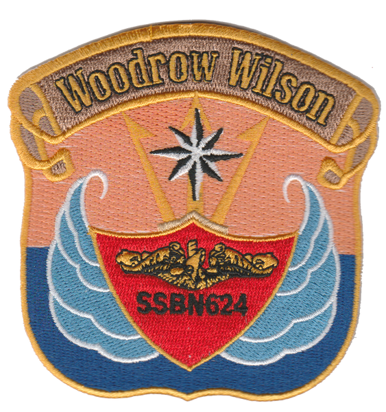 USS Woodrow Wilson SSBN 624- No Hook and Loop