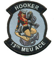 13th MEU Hooker-With Hook and Loop