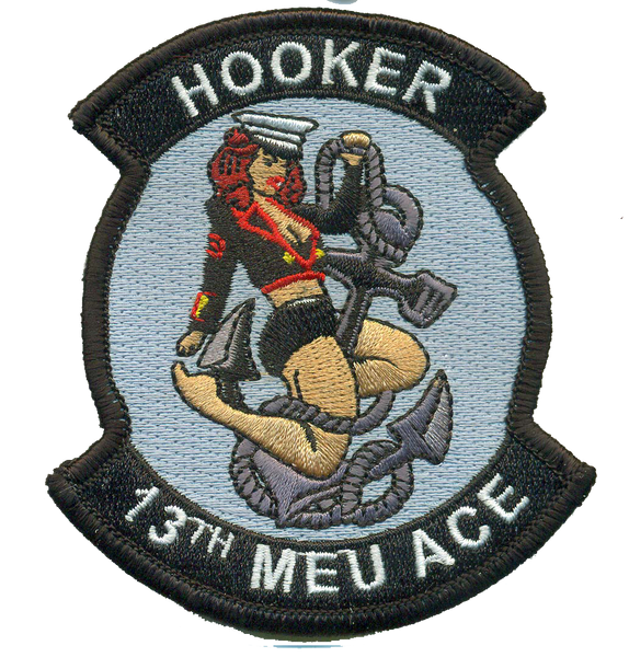 13th MEU Hooker-With Velcro