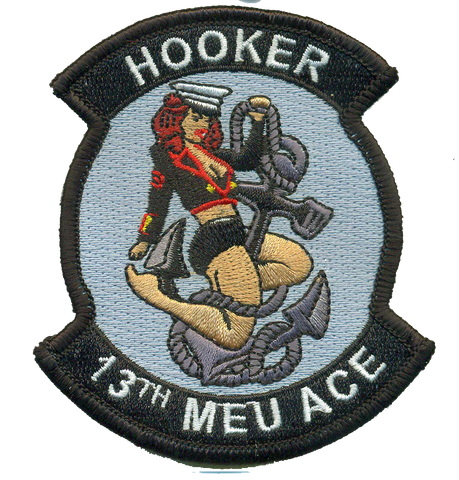 13th MEU Hooker- With Velcro