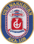 USS Washburn- AKA-108- No Hook and Loop