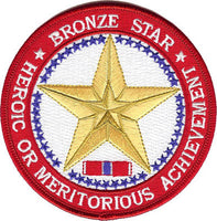 Bronze Star-No Hook and Loop