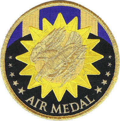 Air Medal Patch-No Hook and Loop