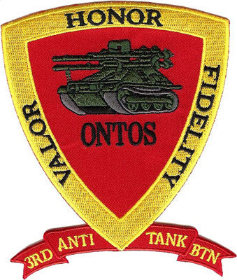 USMC 3rd Anti-Tank Bn- No Hook and Loop