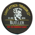Bueller Memorial Guinness Patch-With Hook and Loop