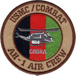 AH-1 Cobra Afghanistan Air Crew-No Hook and Loop