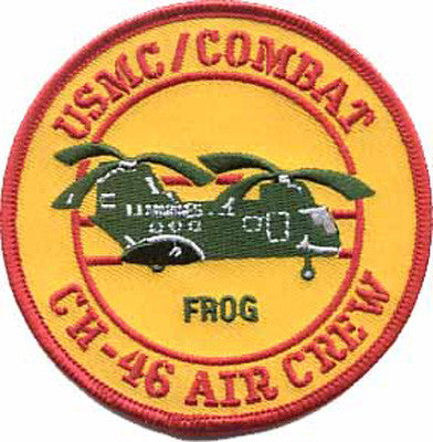 CH-46 Frog Combat Aircrew-No Hook and Loop