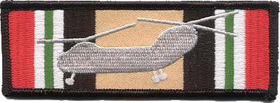 CH-46 Iraq Ribbon-No Hook and Loop