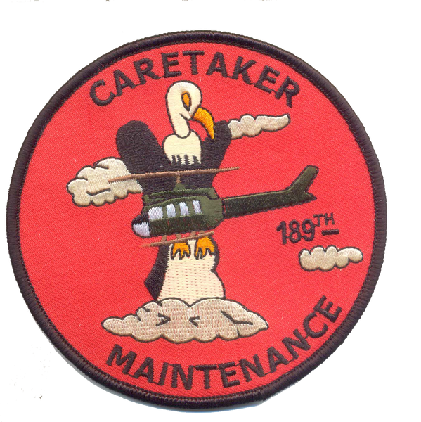 189th Caretaker Maintenance-Vietnam-No Hook and Loop