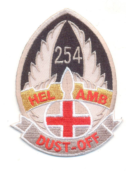 254th Air Ambulance-No Hook and Loop