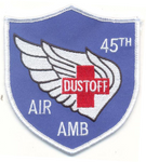 45th Dust Off-No Hook and Loop