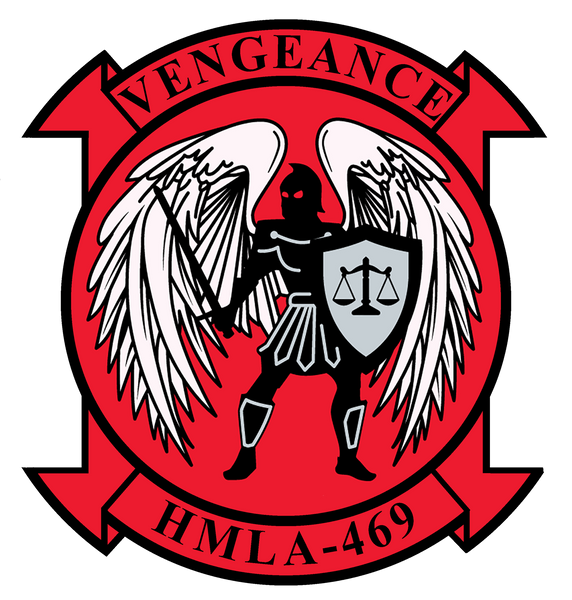 USMC HMLA-469 Sticker