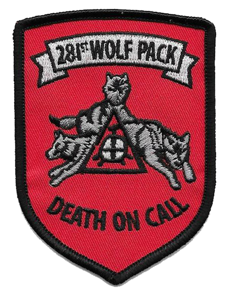281st Wolf Pack-No Hook and Loop