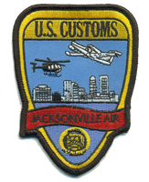 Legacy US Customs Jacksonville Air Branch Original- No Hook and Loop