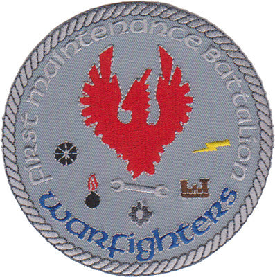 1st Maintenance Battalion Warfighters-No Velcro