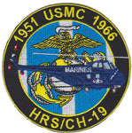 HRS/CH-19 Korean War Patch