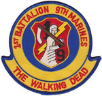 1st Bn 9th Marines Walking Dead-No Hook and Loop