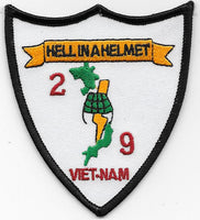 2nd Bn 9th Marines- Hell in a Helmet- No Velcro