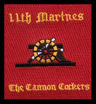 11th Marines Cannon Cockers-No Velcro