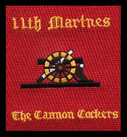 11th Marines Cannon Cockers-No Hook and Loop