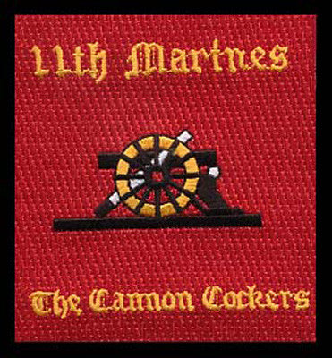 11th Marines Cannon Cockers- No Velcro