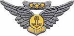 Combat Aircrew Wings-No Hook and Loop