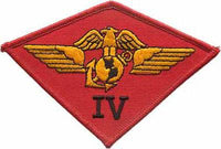 4th Marine Air Wing MAW- No Velcro