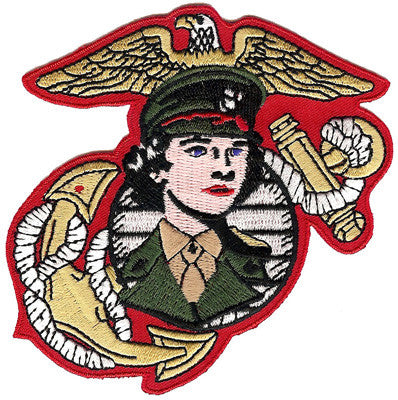 Women Marines- No Hook and Loop