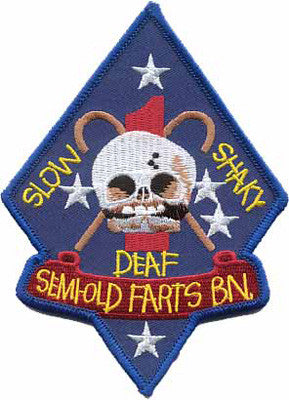 Old Farts Bn- No Velcro