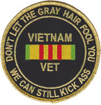 Vietnam Veteran- We Can Still Kick Ass- No Hook and Loop