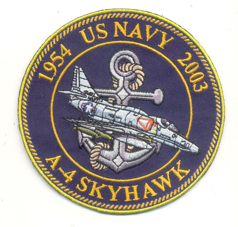 Navy A-4 Skyhawk Patch- With Velcro