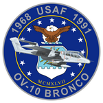 USAF OV-10 Bronco Commemorative Sticker