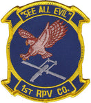 1st Remotely Piloted Vehicle RPV Co.- No Velcro