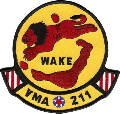 VMA-211 Wake Island Avengers- No Hook and Loop
