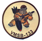 USMC VMSB-133- No Hook and Loop