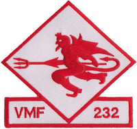 VMF-232 Red Devils- No Velcro