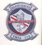 "Capt Jake ""Red Stripe"" Frederick Memorial Patch and Sticker Combo- With Velcro"