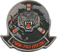 VMM-262 Flying Tigers (REIN) Black/Gray