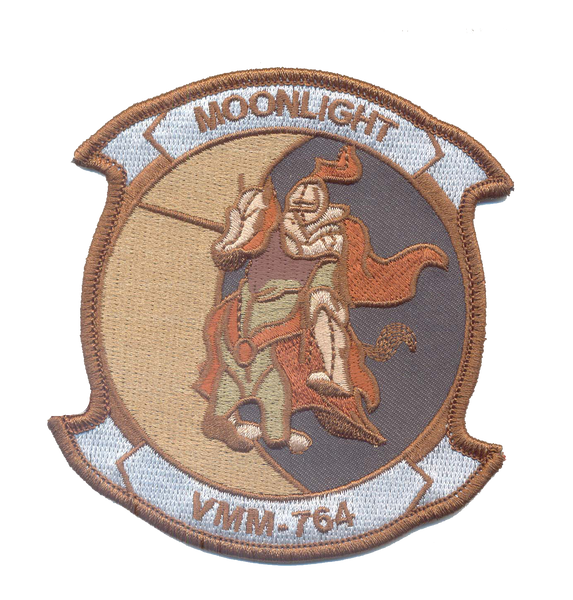 VMM-764 Moonlight Desert Subdued Squadron patch