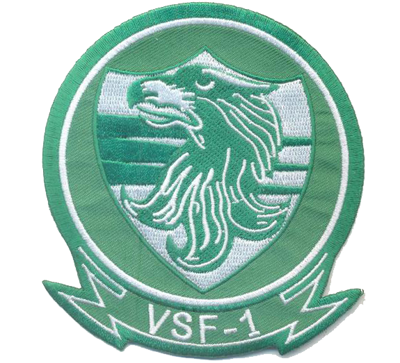 US Navy VSF-1- No Velcro