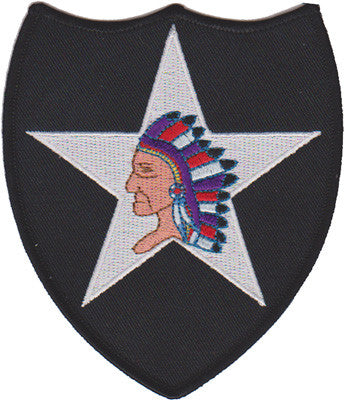 2nd Infantry Division- WWI-No Hook and Loop